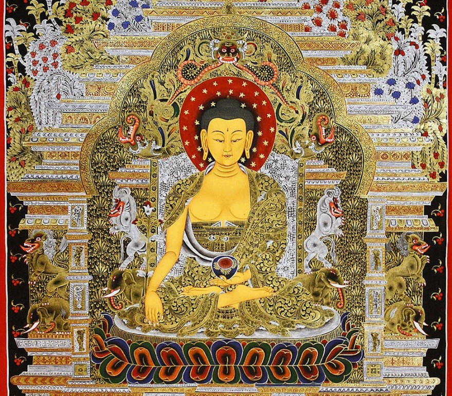 Buddha Shakyamuni-Earth Touching