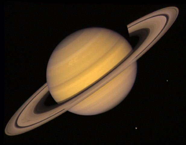 Saturn (Courtesy of NASA)